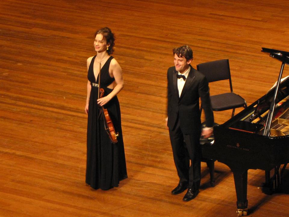 Cory Smythe On The Recent Tour With Hilary Hahn And Related