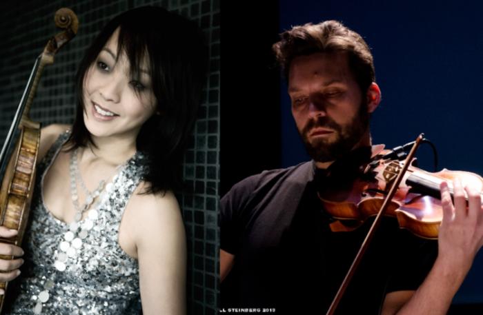 Jennifer Choi and Cornelius Dufallo perform